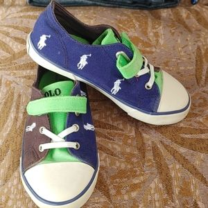 Polo Ralph Lauren kids boats Shoes size 10 Toddler
